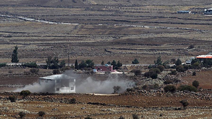 Сирия: Израел удари на сирийска територия