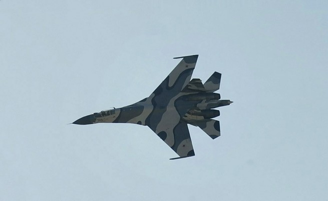 Екшън над Черно море с руски и американски самолети