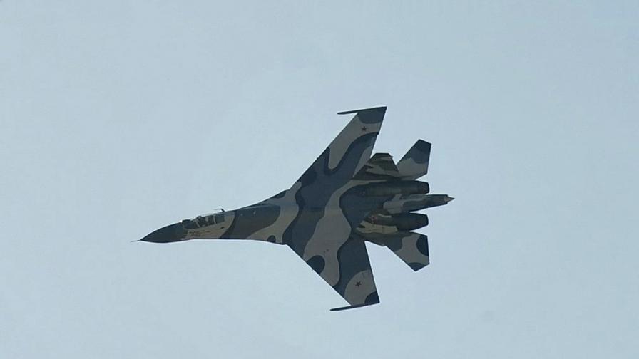 Руски изтребител Су-27 изчезна над Черно море