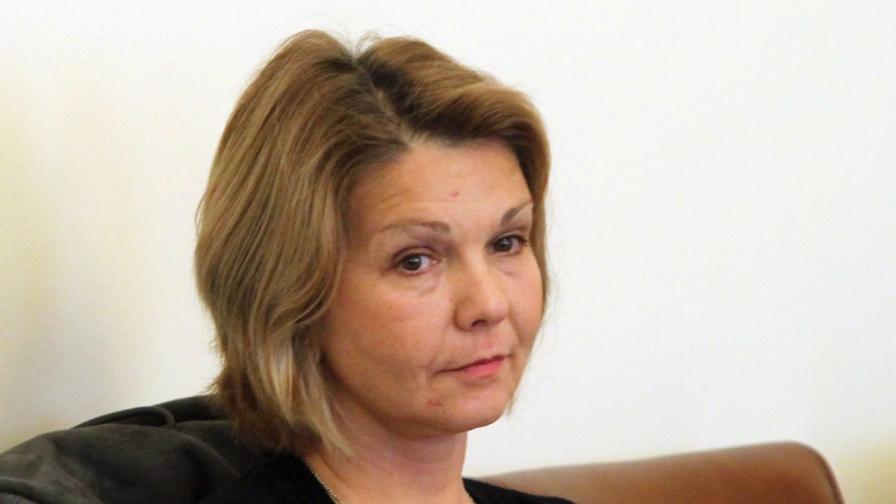 Юлияна Иванова на заседание на Министерския съвет