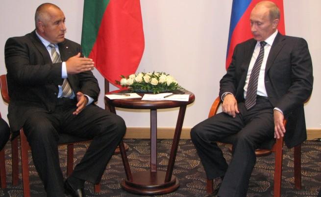 Бойко Борисов разговаря в Гданск през 2009 г. с Владимир Путин. В полския град Гданск министър-председателят Бойко Борисов участва в мероприятията по повод 70-та годишнина от началото на Втората световна война.