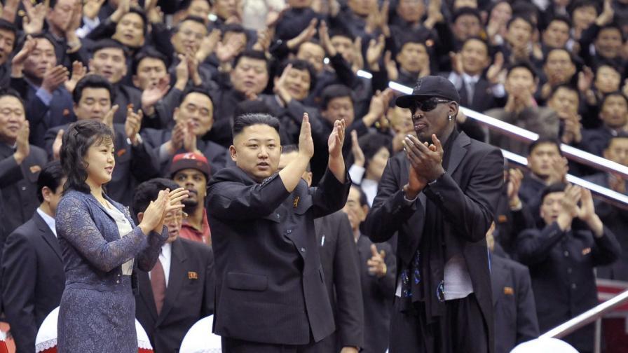 Денис Родман бил любимец на Ким Чен-ун