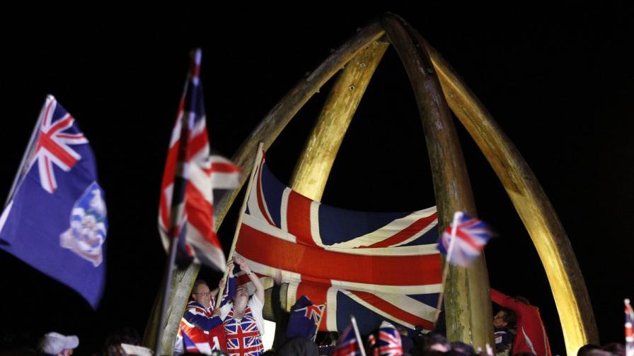 На Фолклендските острови: Британци сме!