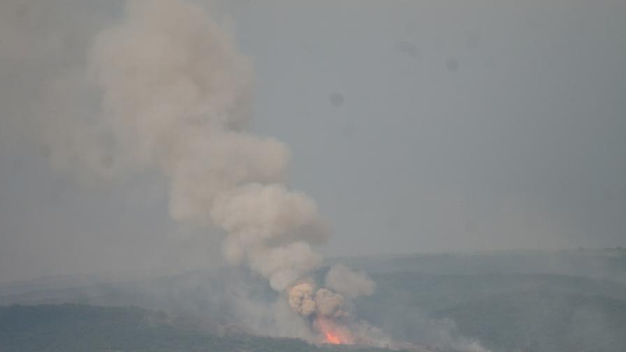 Приключи унищожаването на боеприпаси край Петолъчката