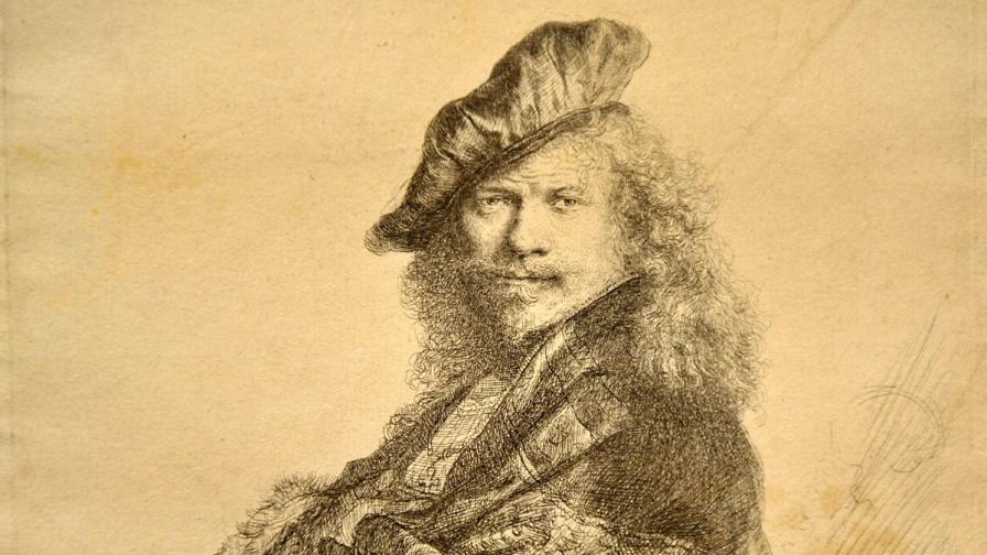 Рембранд (автопортрет)
