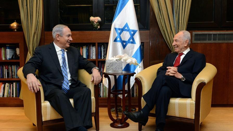 Нетаняху уведоми Шимон Перес, че е формирал правителство