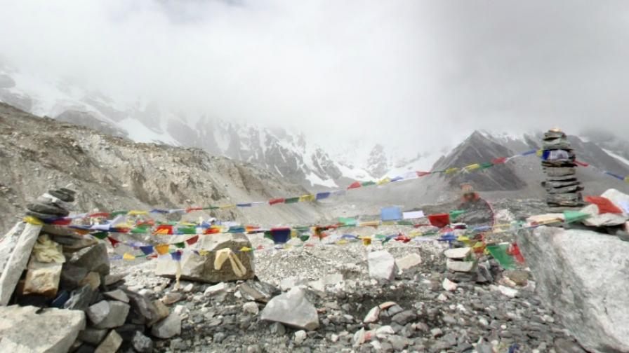 Базовият лагер на Еверест