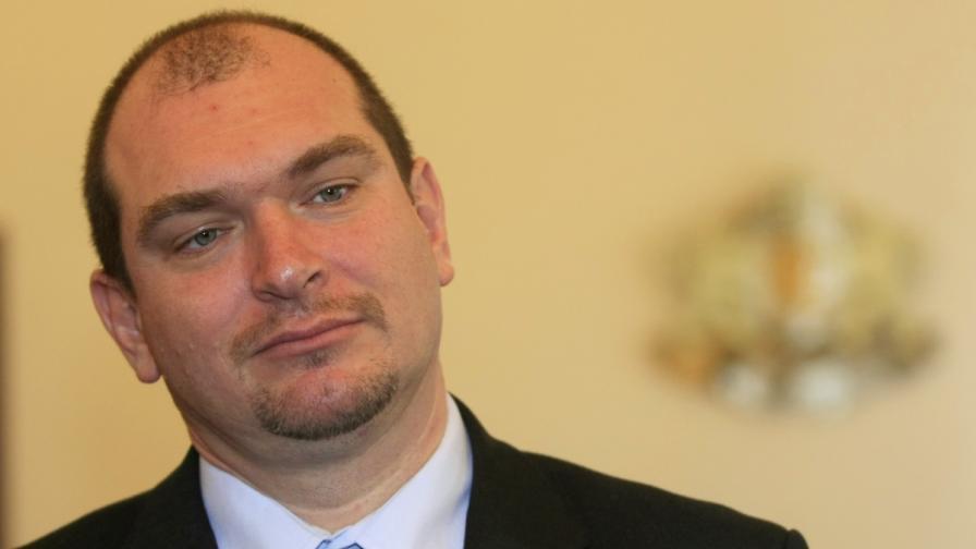 Служебният министър на правосъдието Драгомир Йорданов