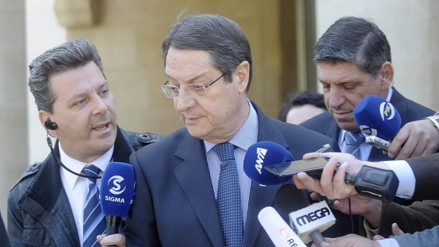Кипърският президент заплашил да подаде оставка