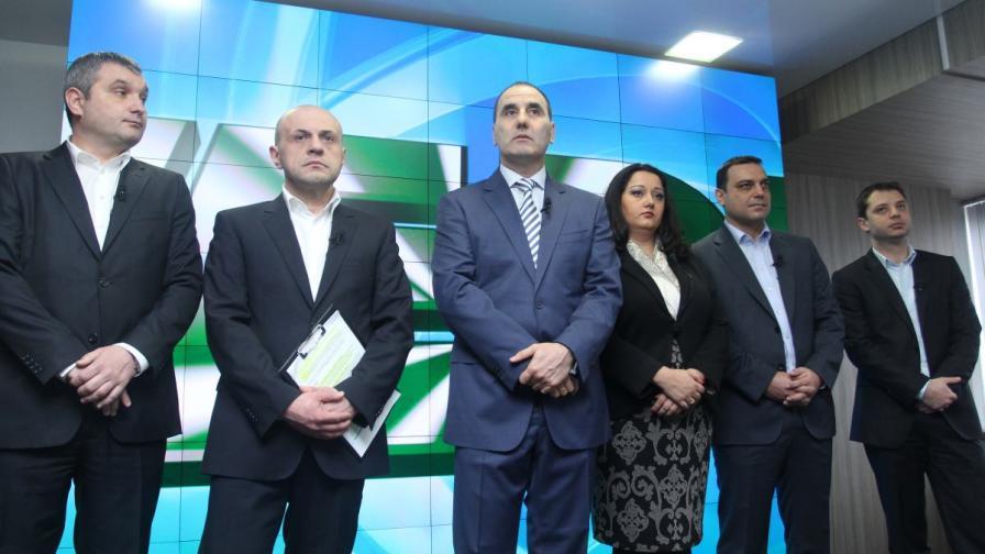 ГЕРБ представи Националния предизборен щаб на партията, както и подробности, свързани с кампанията за предстоящите парламентарни избори.