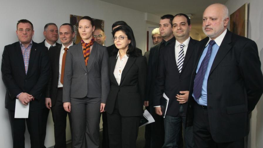 Представянето на водачите на листи на Движение България на гражданите