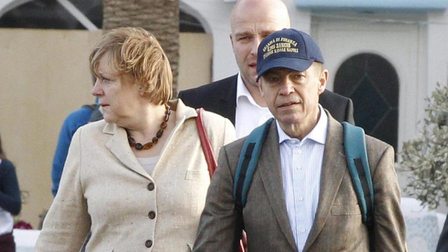 Ангела Меркел стана мишена за папараци