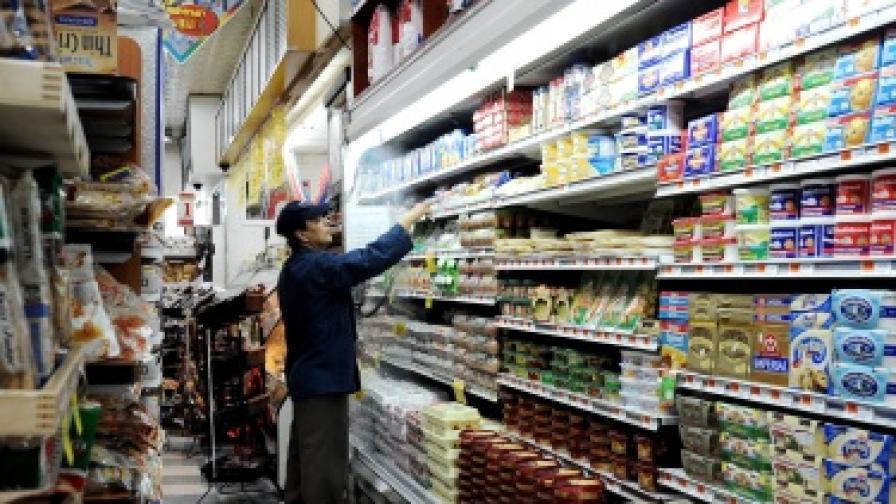 Цените на храните на едро падат