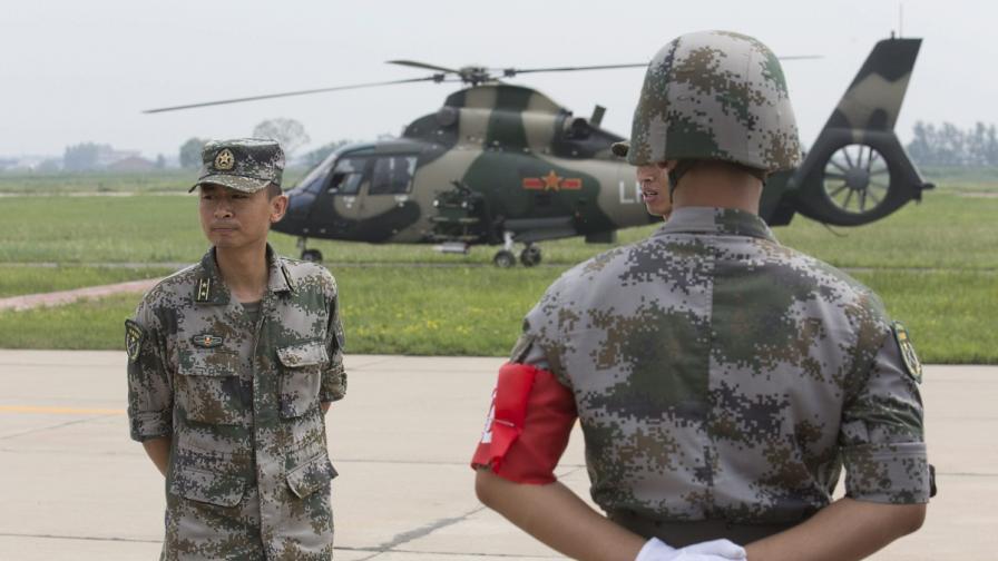 Войници от китайската армия