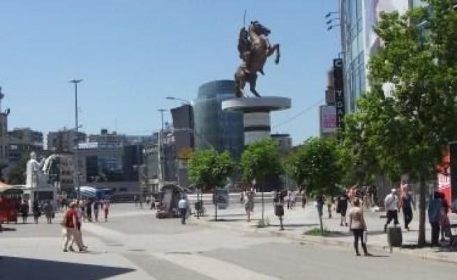 Новите паметници в Скопие