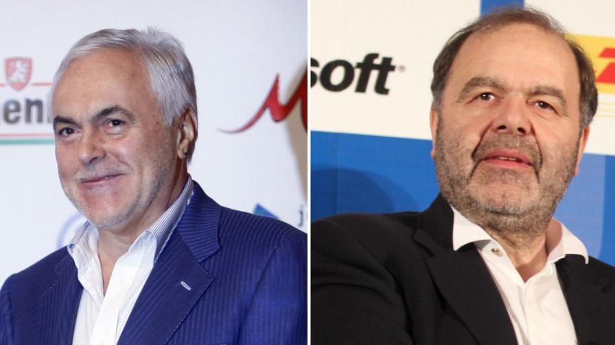 Двама от кредитните милионери, работили като агенти и информатори на Държавна сигурност: Младен Мутафчийски (л), Красимир Стойчев (д)
