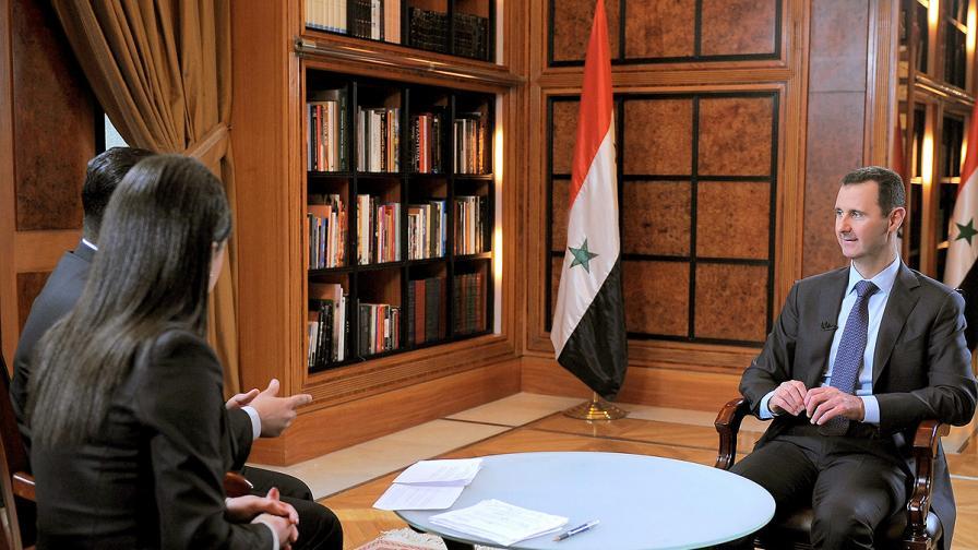 Башар Асад: Ако не победим, това ще е краят на Сирия