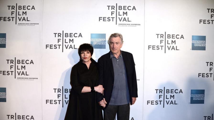 """Актрисата Лайза Минели и един от основателите на """"Трайбека"""" Робърт де Ниро"""