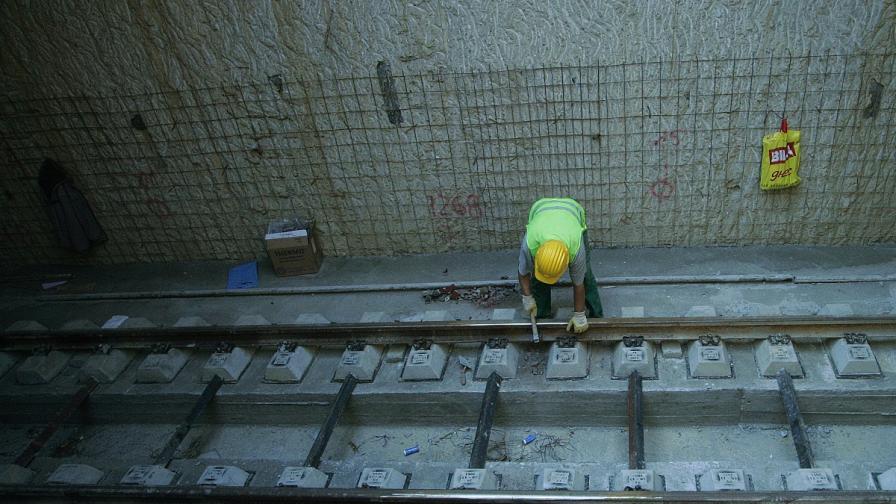 Започна строежът на метрото до Бизнеспарка