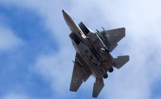 Израел е ударил от въздуха Сирия