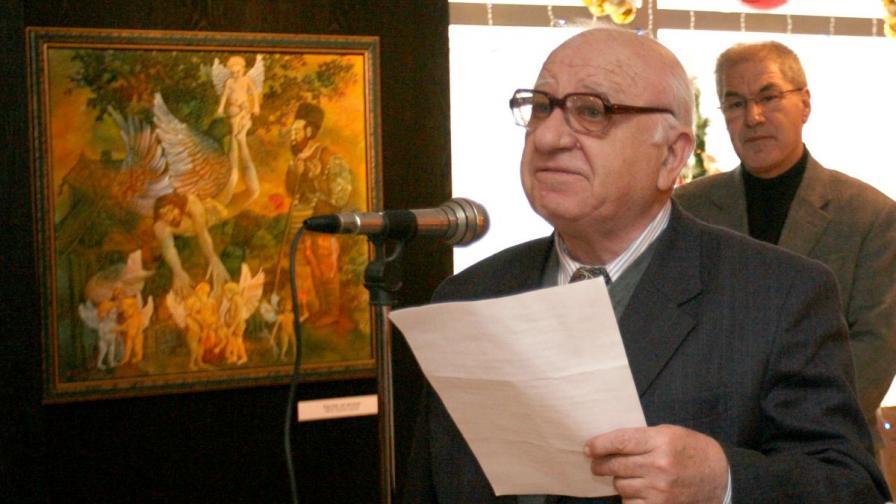 Писателят Георги Мишев