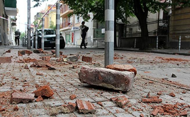22 май 2013 г. - една година от силното земетресение в Перник