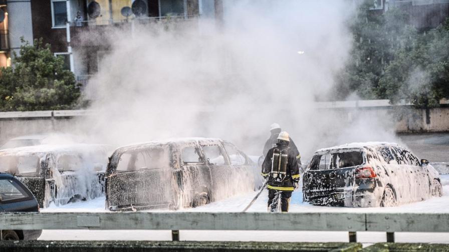 Трети ден размирици в Стокхолм