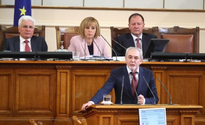 Партийни сблъсъци от трибуната на парламента