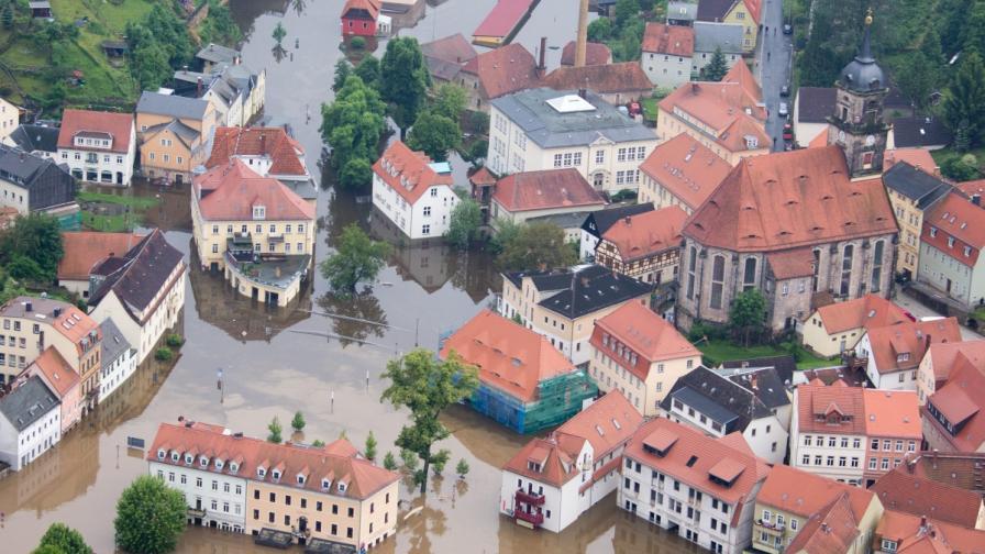 ЕС нямал пари, за да помогне на наводнените в Централна Европа страни