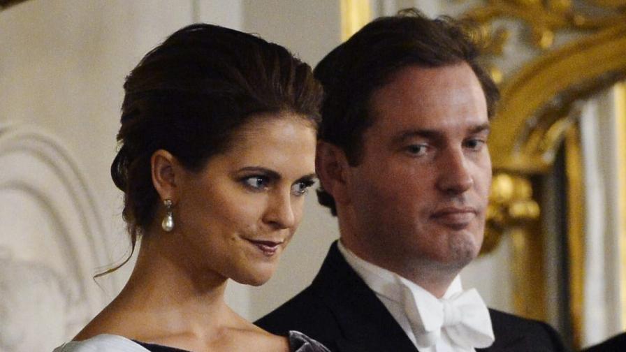 Мадлин Шведска и Крис О'Нийл - принцесата и финансистът