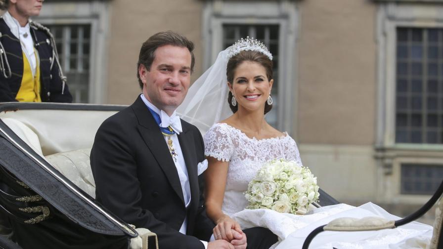 Шведската принцеса се венча за своя нюйоркски банкер