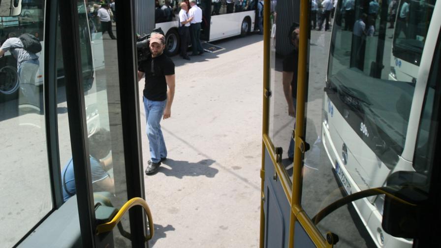 София ще има 126 нови газови автобуса