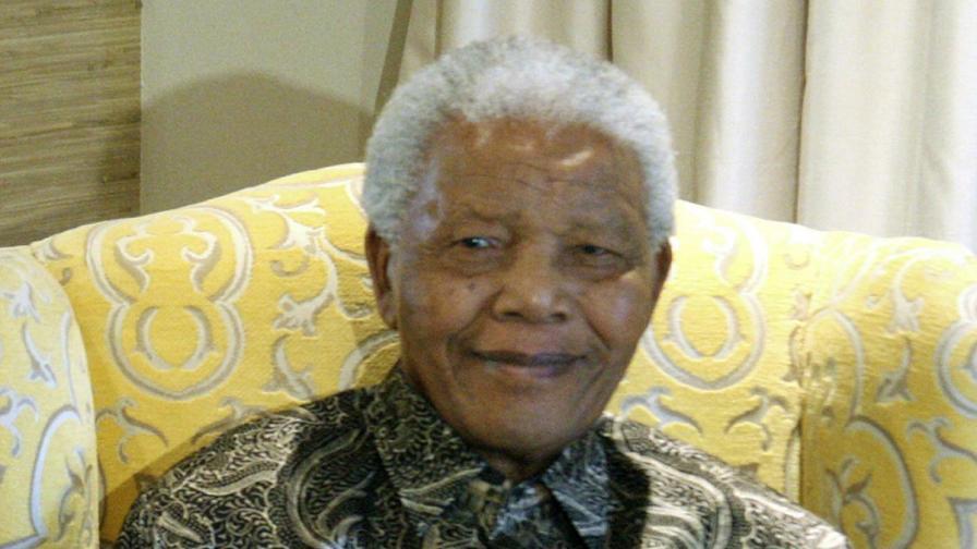 Мандела през 2012 г.