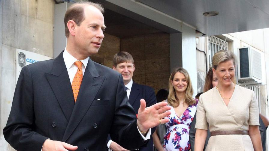 """Принц Едуард принцеса Софи посетиха Първа АГ болница """"Св. София"""""""