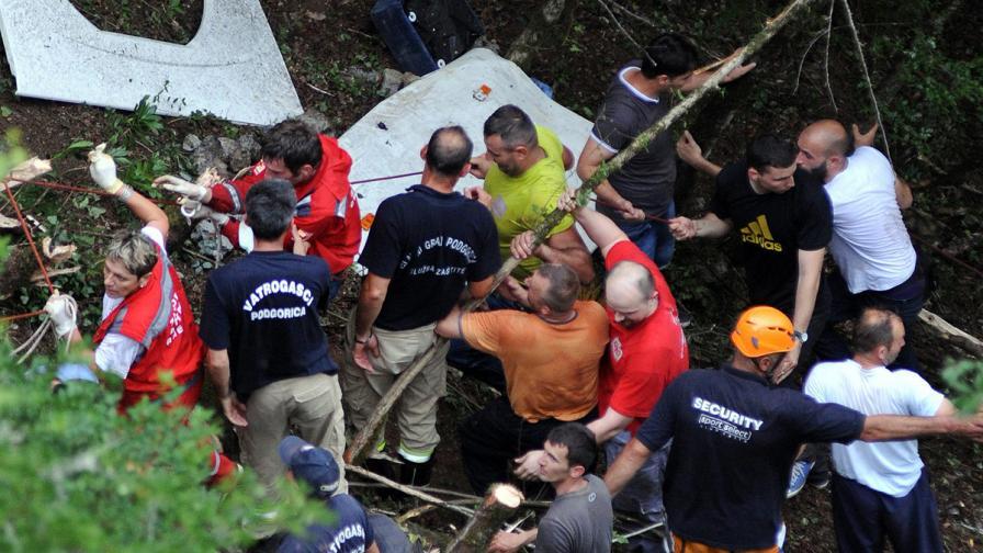 Висока скорост е причината за катастрофата в Черна гора