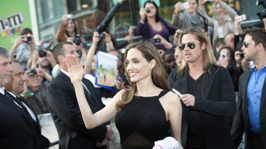 """""""Форбс"""": Най-влиятелна е Анджелина Джоли"""