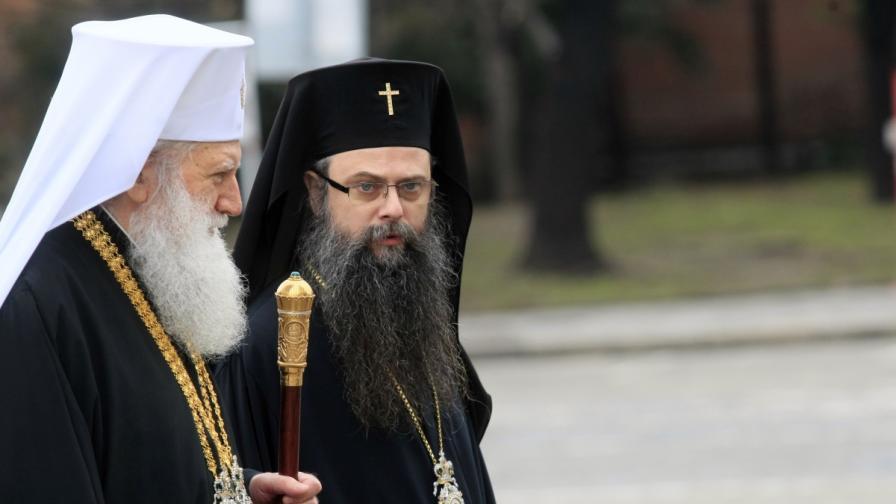 Патриарх Неофит и митрополит Николай