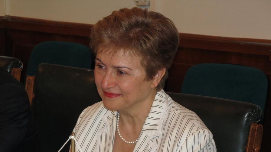 Кристалина Георгиева: Трябва да се знае за какво ще се харчат парите