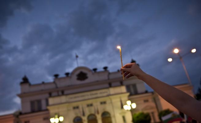 Ден 44: Протестиращи искаха на гости при Цветлин Йовчев