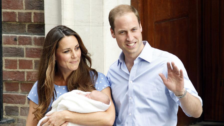 Натовареният график на едно кралско бебе