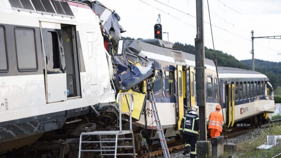Машинист от катастрофата в Швейцария намерен мъртъв
