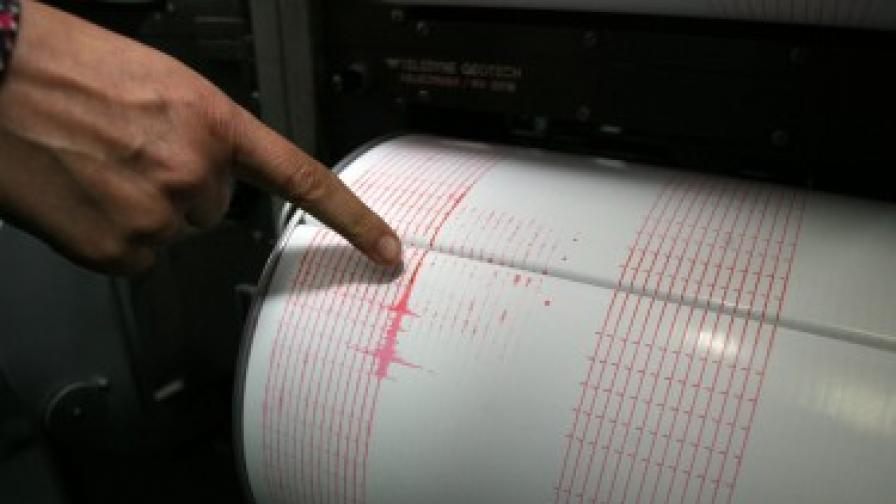 Земетресение в Егейско море е усетено и у нас