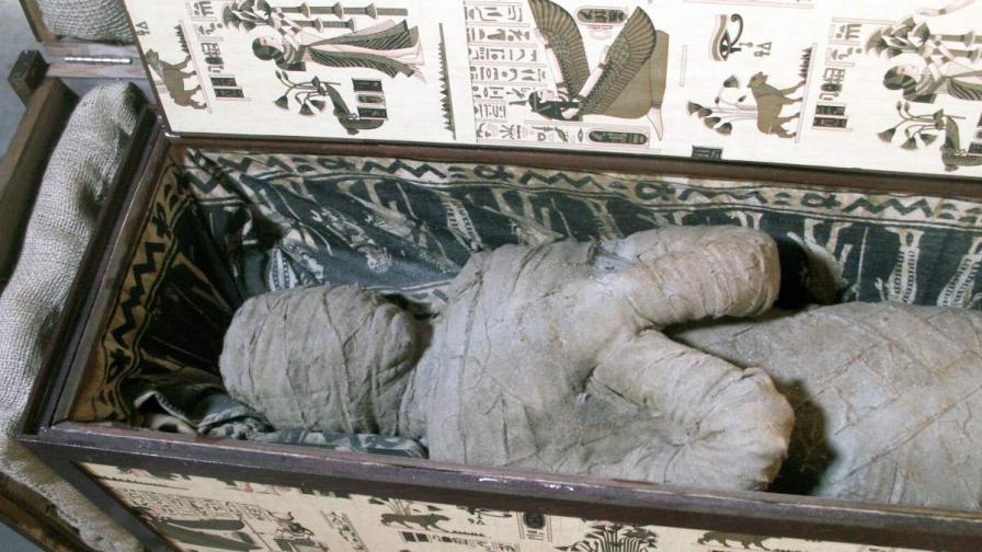Германче откри мумия на тавана на баба си