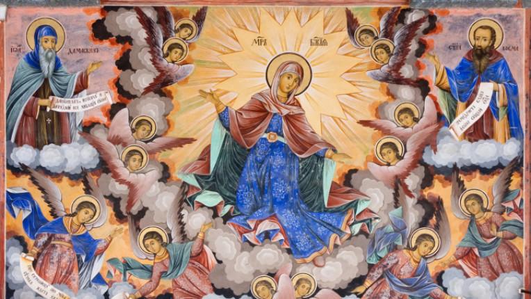 Успение Богородично богородица вяра