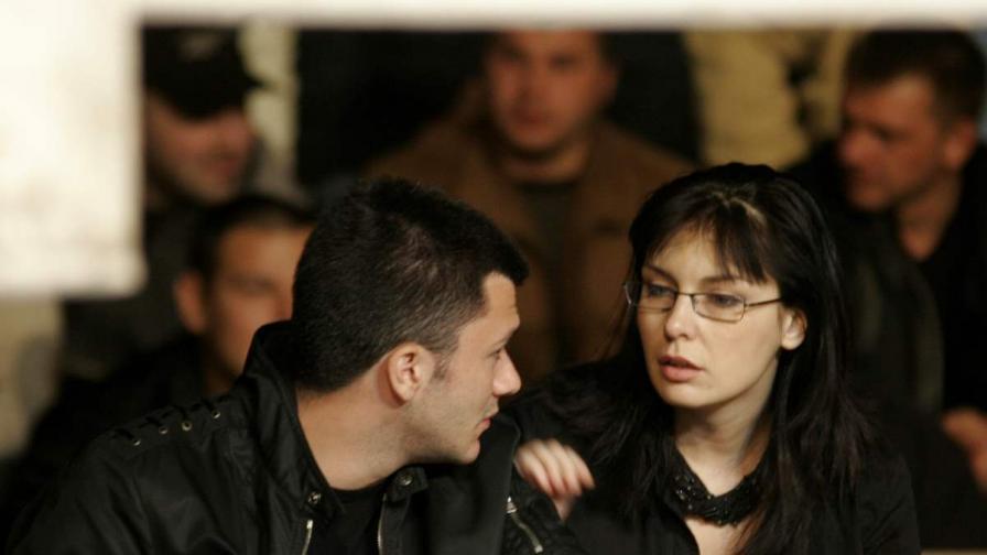 Жени Калканджиева и Тачо