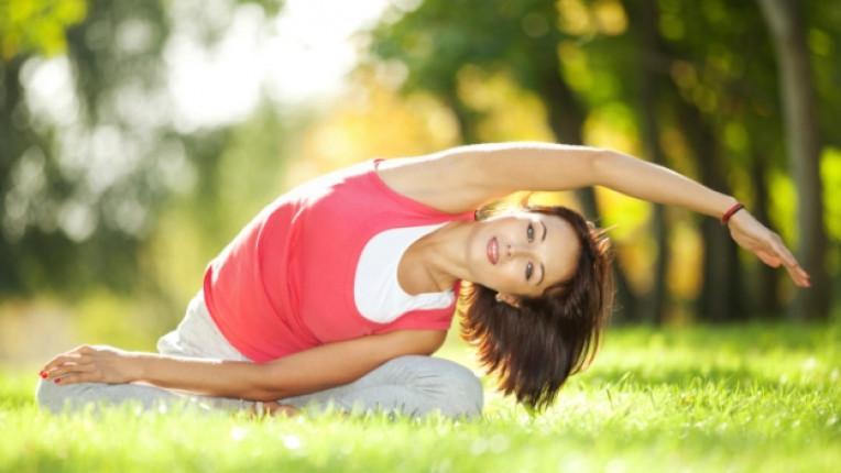 тренировка спорт упражнения аеробика йога