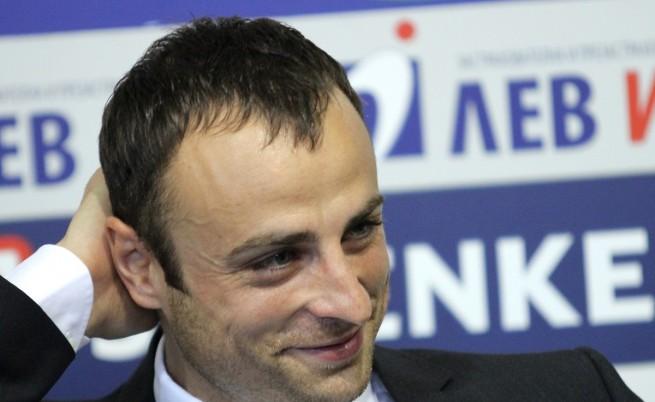 Бербатов, Гришо и Стилиян Петров се заляха с кофи вода