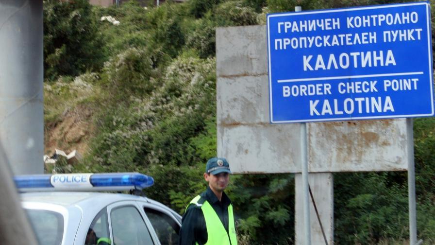 Опашката за ГКПП Калотина започва от Сливница