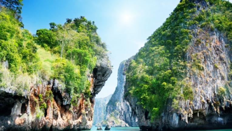 Тайланд плаж лодка