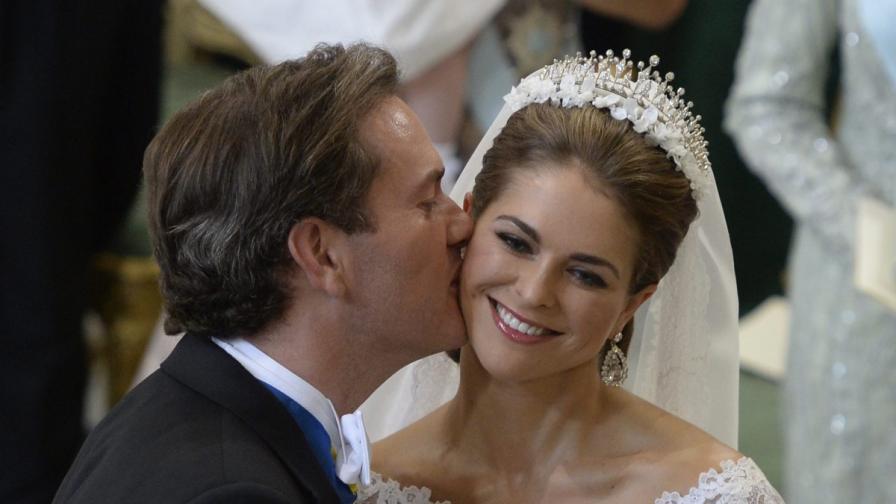 Шведската принцеса Мадлин е бременна